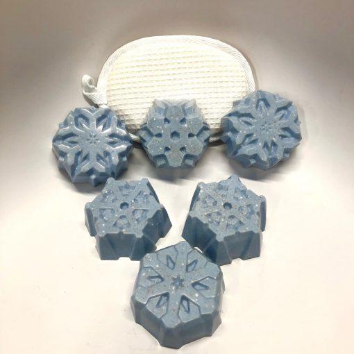 Snowflake Salt bars